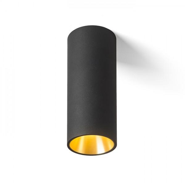 RENDL přisazené svítidlo PEDRO stropní černá/zlatá 230V LED 25W 30° 3000K R12820 1