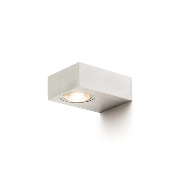 RENDL outdoor lamp KORSO I wall brushed aluminum 230V LED 5W 120° IP54 3000K R12829 1
