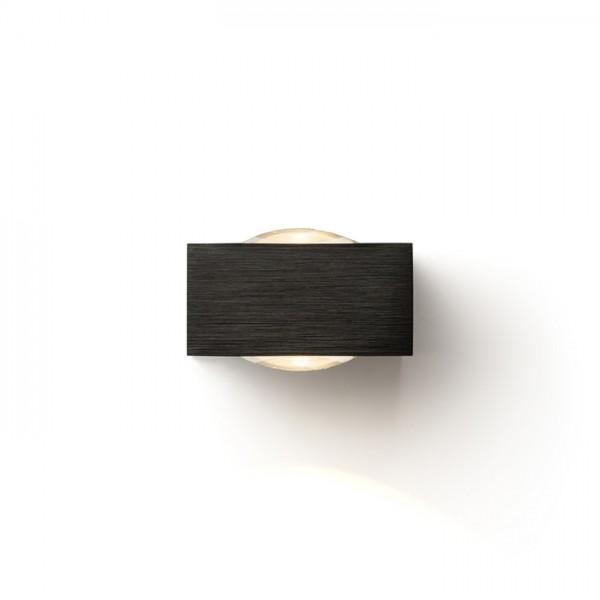KORSO II nástenná  čierny elox 230V LED 2x3W 120° IP54  3000K