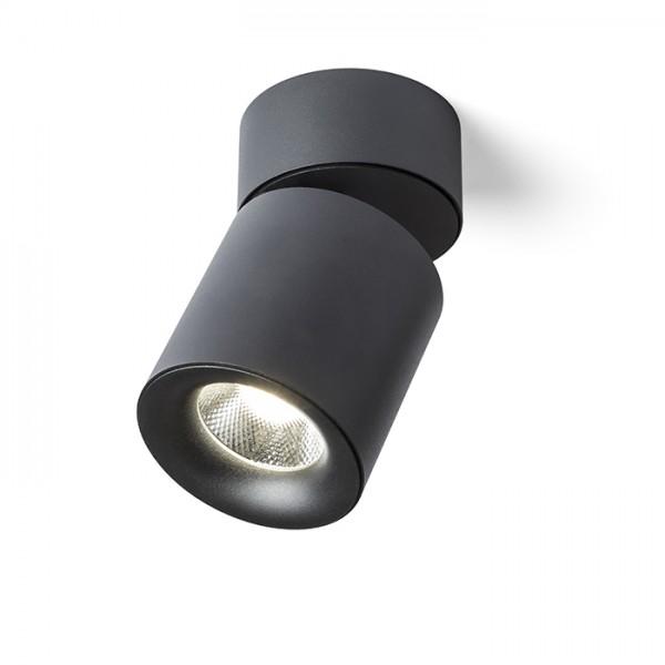 CONDU stropná čierna  230V LED 20W 24°  3000K