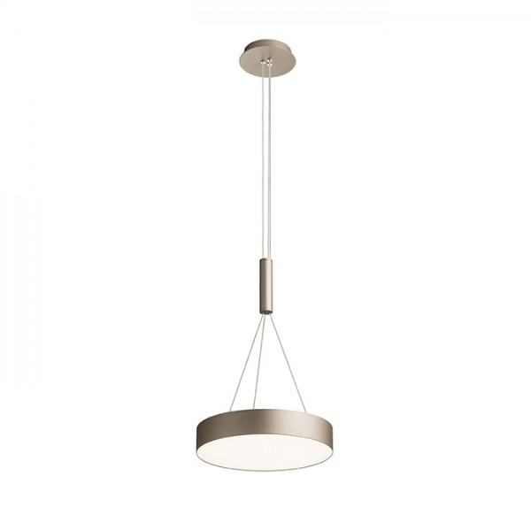 RENDL függő lámpatest LARISA R 30 függeszték gyöngyházarany 230V LED 30W 3000K R12847 1