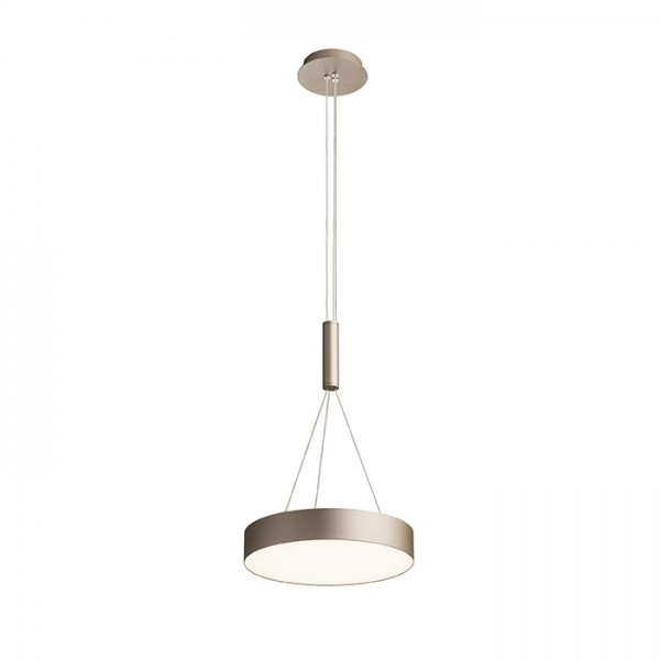RENDL hanglamp LARISA R 30 hanglamp parelmoergoud 230V LED 30W 3000K R12847 1