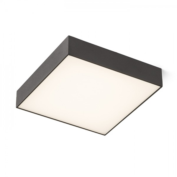 RENDL surface mounted lamp LARISA SQ 30 ceiling black 230V LED 30W 3000K R12851 1