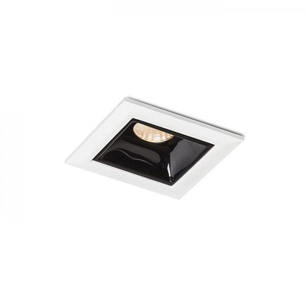 RENDL luminaire plafond LIZARD I encastré blanc 230V LED 2W 24° 3000K R12854 1