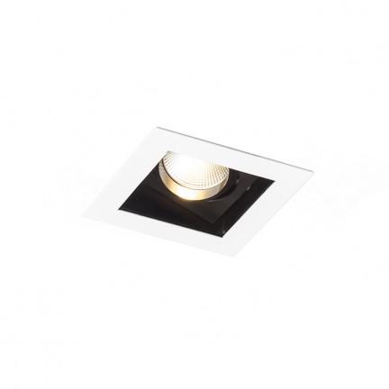 RENDL vestavné světlo BONDY I zápustná bílá 230V LED 7W 24° 3000K R12856 1