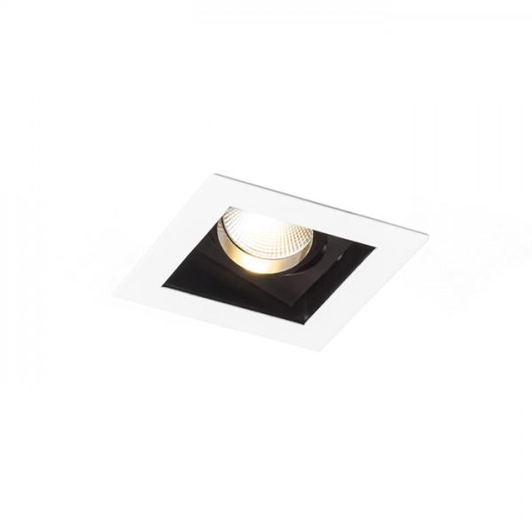 RENDL verzonken lamp BONDY I inbouwlamp zuiver wit 230V LED 7W 24° 3000K R12856 1