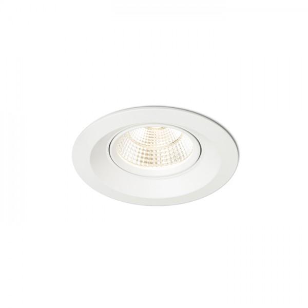 SPARKLE zápustná biela  230V LED 5W 24°  3000K