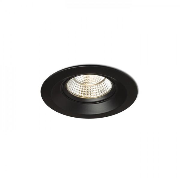 SPARKLE zápustná čierna  230V LED 5W 24°  3000K