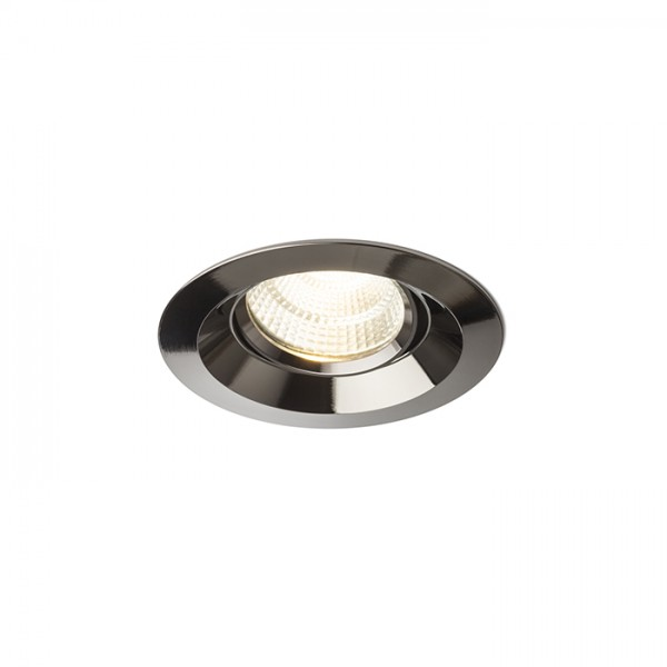 RENDL recessed light SPARKLE recessed black chrome 230V LED 5W 24° 3000K R12863 1