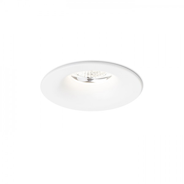 RENDL recessed light LOOKER 10 recessed white 230V LED 10W 25° 3000K R12864 1
