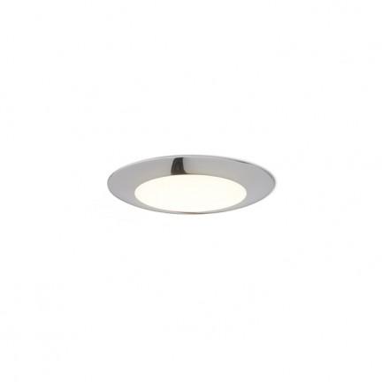 RENDL verzonken lamp DADA 9 inbouwlamp Zwart chroom 230V LED 3W 3000K R12870 1