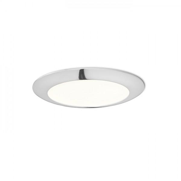 RENDL luminaire plafond DADA 17 encastré chrome 230V LED 12W 3000K R12877 1
