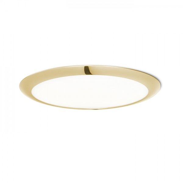 RENDL recessed light DADA 30 recessed gold 230V LED 24W 3000K R12888 1