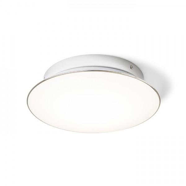 RENDL surface mounted lamp MARA ceiling frosted acrylic/chrome 230V LED 24W 3000K R12894 1