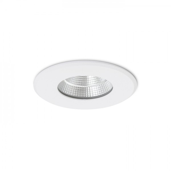 RENDL vestavné světlo AZTECA matná bílá 230V LED 9.3W 48° IP44 3000K R12910 1