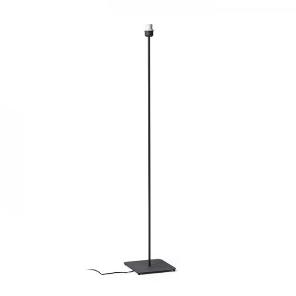 RENDL shades and accessories, bases, pendent sets CORTINA floor base black 230V E27 28W R12930 1