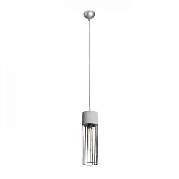 RENDL hanglamp BURTON hanglamp Beton 230V E27 42W R12931 1