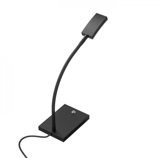 RENDL lámpara de mesa FRISCO T de mesa negro 230V LED 4.2W 120° 3000K R12940 1