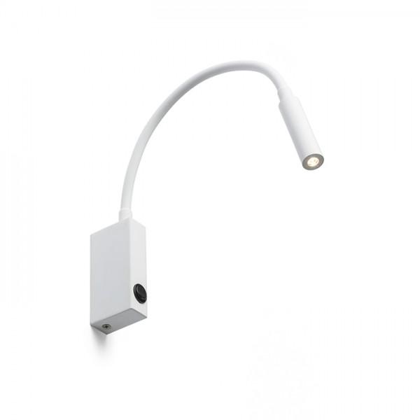 EKE nástenná biela  230V LED 3W 60°  3000K