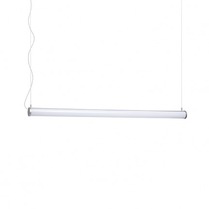 RENDL suspension ROLINA suspension gris argent acrylique dépoli 230V LED 30W 3000K R12948 1