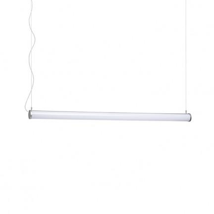 RENDL colgante ROLINA colgante gris plata acrílico esmerilado 230V LED 30W 3000K R12948 1