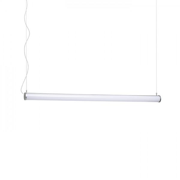 RENDL Viseća rasvjeta ROLINA viseća srebrno siva mliječni akril 230V LED 30W 3000K R12948 1