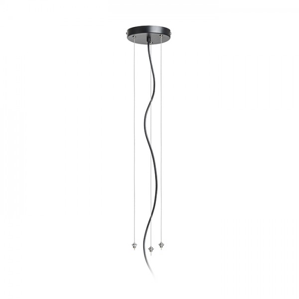 RENDL surface mounted lamp COIMBRA pendant set black R12961 1