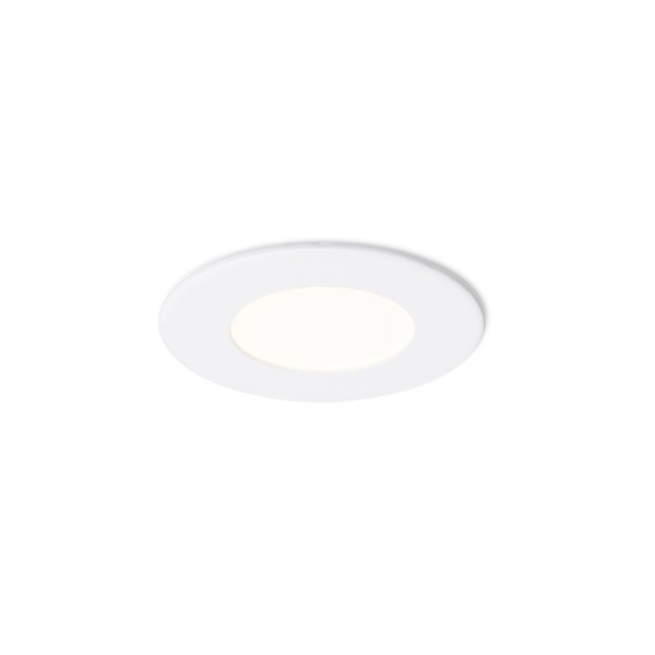 RENDL recessed light SOCORRO R 85 recessed white 230V LED 3W 3000K R12963 1