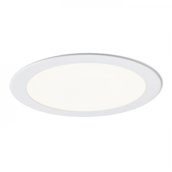 RENDL recessed light SOCORRO R 225 recessed white 230V LED 18W 3000K R12965 1