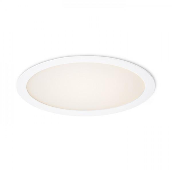 RENDL indbygget lampe SOCORRO R 300 indbygget hvid 230V LED 24W 3000K R12966 1