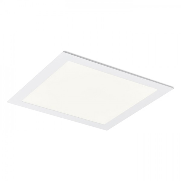 RENDL verzonken lamp SOCORRO SQ 300 inbouwlamp wit 230V LED 24W 3000K R12970 1
