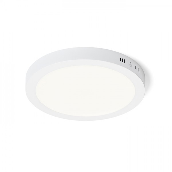 RENDL lámpara de techo SOCORRO R 300 montadas en superficie blanco 230V LED 24W 3000K R12973 1