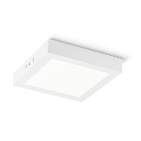 RENDL surface mounted lamp SOCORRO SQ 220 surface mounted white 230V LED 18W 3000K R12975 1