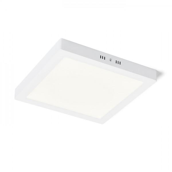 RENDL luminaire en saillie SOCORRO SQ 300 montage en surface blanc 230V LED 24W 3000K R12976 1