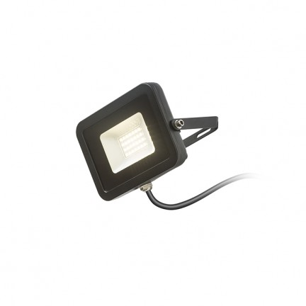 RENDL outdoor lamp PONTA S reflector black 230V LED 20W 120° IP65 3000K R12980 1