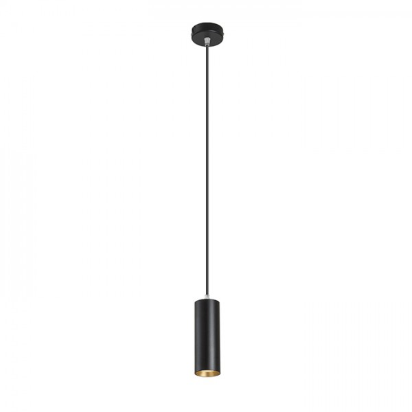 MAVRO závesná čierna/zlatá  230V LED 12W 38°  3000K