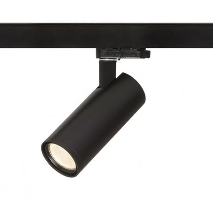 RENDL LED sínek és rendszerek PRODIGI S három áramkörös sínre fekete 230V LED 10W 36° 3000K R13001 1