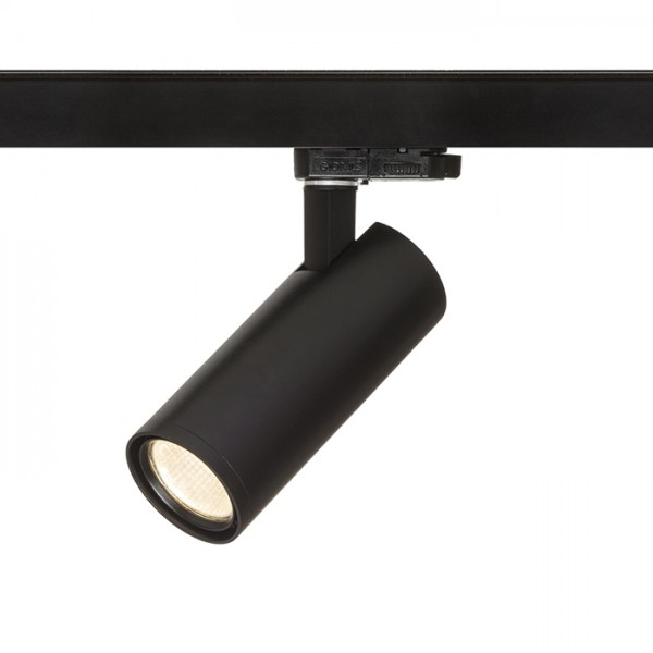 RENDL LED strips en systemen PRODIGI S voor 3f. stroomrail zwart 230V LED 10W 36° 3000K R13001 1