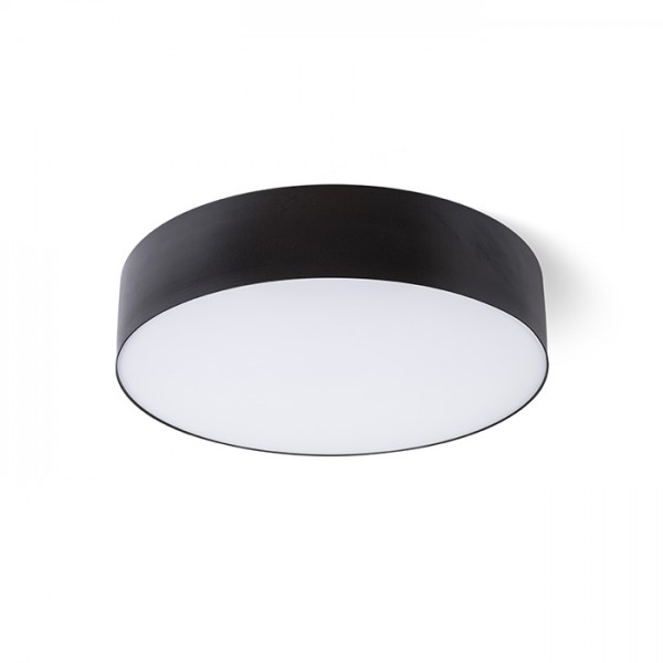 RENDL surface mounted lamp COIMBRA DIMM ceiling black 230V LED 24W 3000K R13096 1