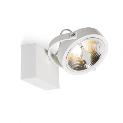 RENDL spotlight KELLY LED I DIMM seinä valkoinen 230V LED 12W 24° 3000K R13104 1