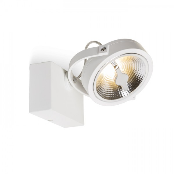 RENDL foco KELLY LED I DIMM de pared blanco 230V LED 12W 24° 3000K R13104 1