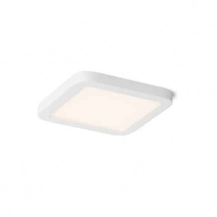 RENDL recessed light HUE SQ 9 DIMM recessed white 230V LED 6W 3000K R13132 1