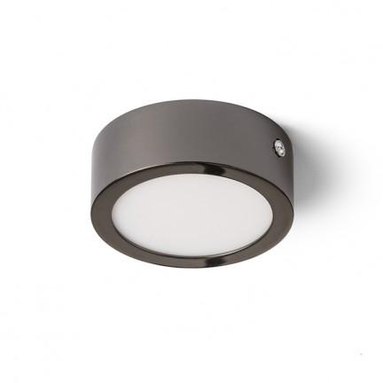 RENDL přisazené svítidlo HUE R 9 DIMM stropní černý chrom 230V LED 6W 3000K R13138 1