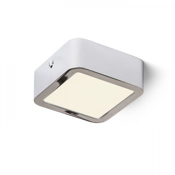 HUE SQ 9 DIMM stropná  chróm 230V LED 6W  3000K