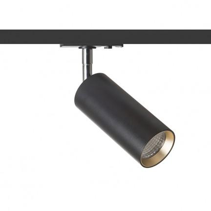 RENDL Světelné lištové, kolejnicové systémy a LED pásky MAVRO DIMM pro jednookr. lištu černá/zlatá 230V LED 12W 38° 3000K R13163 1