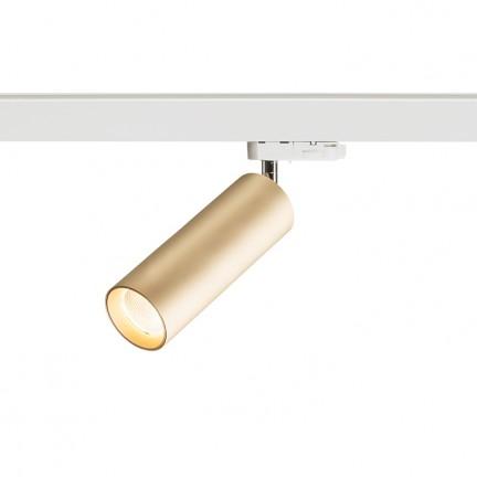 RENDL tiras y sistemas LED MAVRO DIMM para carril trifásico oro 230V LED 12W 38° 3000K R13172 1