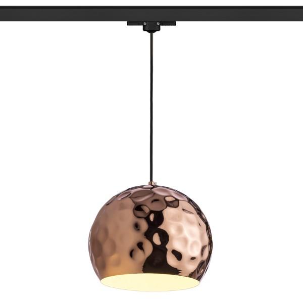 RENDL Světelné lištové, kolejnicové systémy a LED pásky BLONDIE 25 pro tříokr. lištu měď 230V E27 42W R13218 1