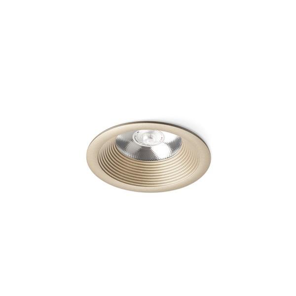 SHARM BASE zápustná perlová zlatá  230V LED 10W 24°  3000K