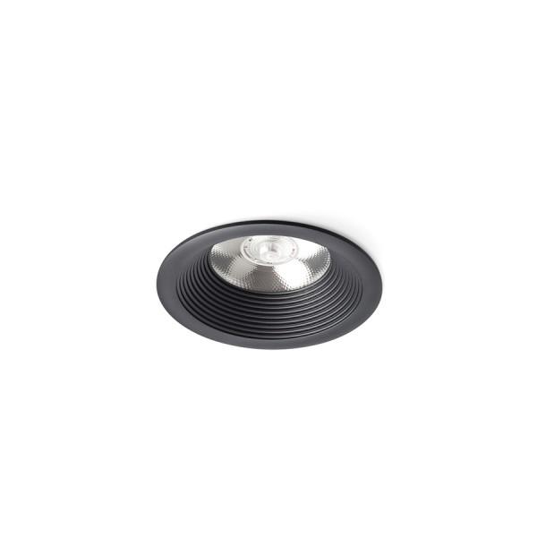 SHARM BASE zápustná čierna  230V LED 10W 24°  3000K