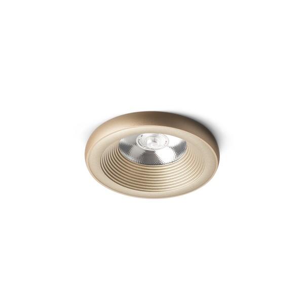 SHARM PLUS zápustná perlová zlatá  230V LED 10W 24°  3000K